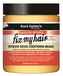AUNT JACKIES FLAX FIX MY HAIR MASQUE