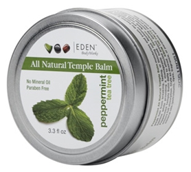 EDEN BODY WORKS PEPPERMINT T/TREE TEMPLE BALM