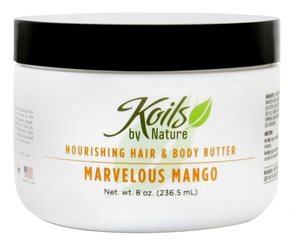 KOILS BY NATURE HAIR & BODY BUTTER MARVELOUS MANGO