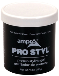 AMPRO PROTEIN STYLING GEL REGULAR HOLD 15 OZ